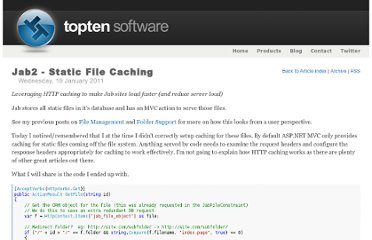 http://www.toptensoftware.com/Articles/40/Jab2-Static-File-Caching