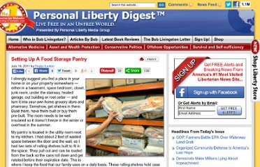 http://personalliberty.com/2011/07/18/setting-up-a-food-storage-pantry/