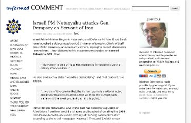 http://www.juancole.com/2012/02/israeli-pm-netanyahu-attacks-gen-dempsey-as-servant-of-iran.html