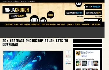 http://ninjacrunch.com/30-abstract-photoshop-brush-sets-to-download/