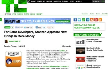 http://techcrunch.com/2012/02/21/for-some-developers-amazon-appstore-now-brings-in-more-money/