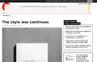 http://www.architectsjournal.co.uk/the-style-war-continues/8611435.article
