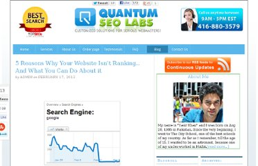 http://www.quantumseolabs.com/blog/seolinkbuilding/5-reasons-website-ranking/