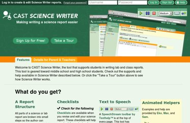 http://sciencewriter.cast.org/welcome