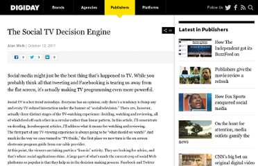 http://www.digiday.com/social/the-social-tv-decision-engine/