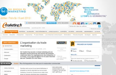 http://www.e-marketing.fr/Marketing-Magazine/Article/L-organisation-du-trade-marketing-4644-1.htm
