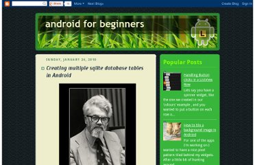 http://androidforbeginners.blogspot.com/2010/01/creating-multiple-sqlite-database.html