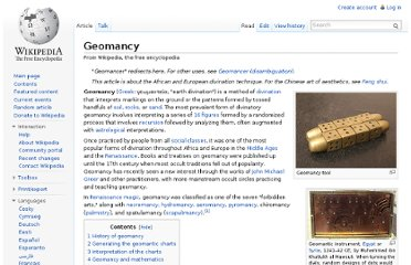 http://en.wikipedia.org/wiki/Geomancy#cite_note-10