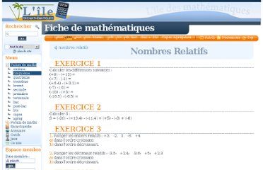 http://www.ilemaths.net/maths_5-nombres-relatifs-5exos-correction.php