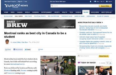 http://ca.news.yahoo.com/blogs/dailybrew/montreal-ranks-best-city-canada-student-160506909.html