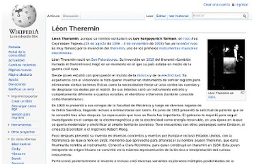 http://es.wikipedia.org/wiki/L%C3%A9on_Theremin