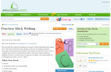 http://www.education.com/activity/article/Stick_Letters_first/