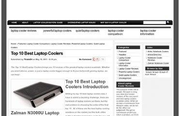 http://www.laptopcoolerreviews.com/reviews/top-10-best-laptop-coolers/
