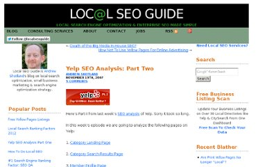 http://www.localseoguide.com/yelp-seo-analysis-part-two/