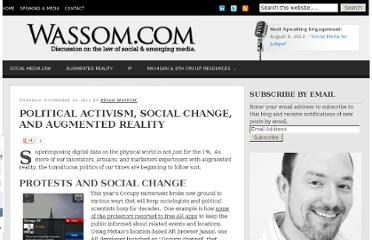 http://www.wassom.com/political-activism-social-change-and-augmented-reality.html