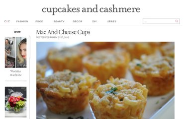 http://cupcakesandcashmere.com/mac-and-cheese-cups/