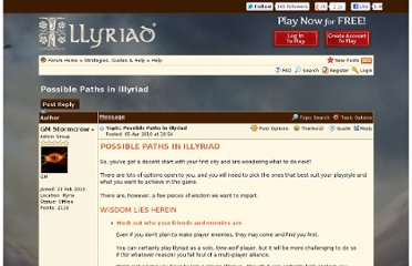 http://forum.illyriad.co.uk/possible-paths-in-illyriad_topic260.html