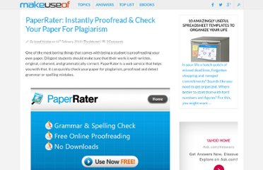 http://www.makeuseof.com/dir/paperrater-check-your-paper-for-plagiarism/