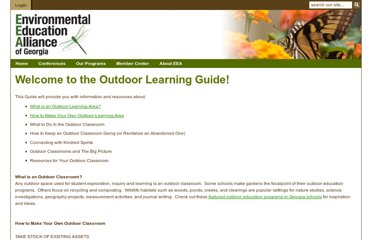 http://www.eealliance.org/index.php?option=com_content&view=article&catid=25%3Ainitiatives&id=71%3Aoutdoor-classroom-guide&Itemid=92