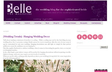 http://www.bellethemagazine.com/2011/04/wedding-trends-hanging-wedding-decor.html