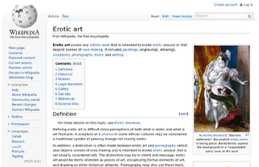 http://en.wikipedia.org/wiki/Erotic_art