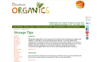 http://www.bostonorganics.com/fresh/tips.html