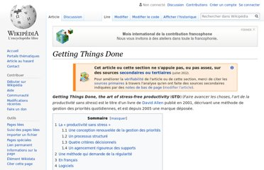 http://fr.wikipedia.org/wiki/Getting_Things_Done