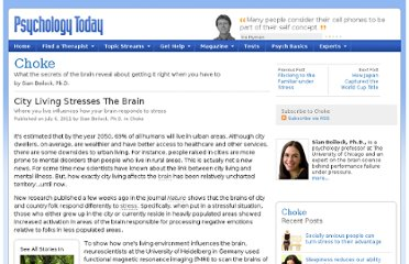 http://www.psychologytoday.com/blog/choke/201107/city-living-stresses-the-brain
