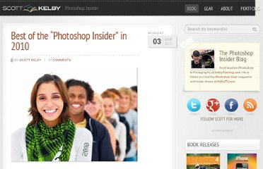 http://scottkelby.com/2011/best-of-the-photoshop-insider-in-2010/