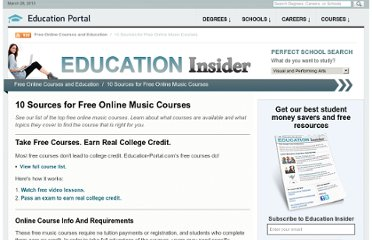 http://education-portal.com/articles/10_Sources_for_Free_Online_Music_Courses.html