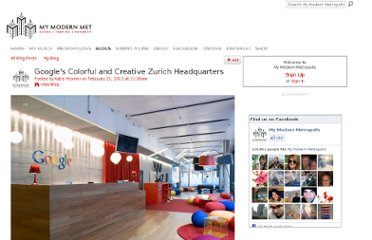 http://www.mymodernmet.com/profiles/blogs/google-office-design-in-zurich-switzerland