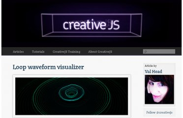 http://creativejs.com/2012/02/loop-waveform/