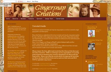 http://gingersnapcreations.blogspot.com/p/project-and-tutorial-guide.html