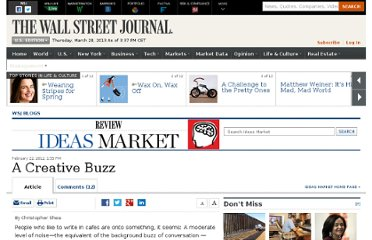http://blogs.wsj.com/ideas-market/2012/02/22/a-creative-buzz/
