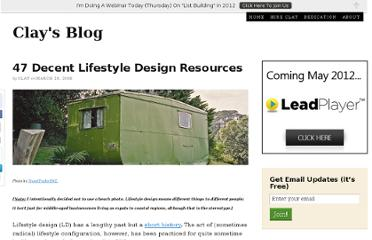 http://www.clay-collins.com/blog/lifestyle-design-and-4-hour-work-week-resources/