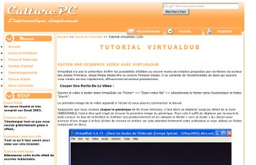 http://culturepc.com/pratiquer/virtualdub/couper-sequence-video-virtualdub.php