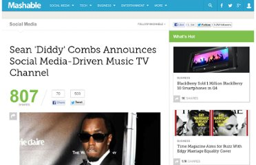 http://mashable.com/2012/02/22/diddys-social-media-tv-channel/