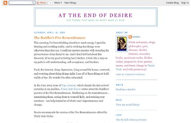 http://attheendofdesire.blogspot.com/2005/04/buddhas-five-remembrances.html
