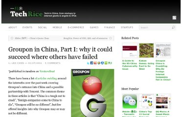 http://techrice.com/2011/01/27/groupon-in-china-part-i-why-it-could-succeed-where-others-have-failed/