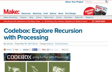 http://blog.makezine.com/2011/05/11/codebox-explore-recursion-with-processing/