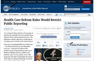 http://www.propublica.org/article/health-care-reform-rules-would-restrict-public-reporting