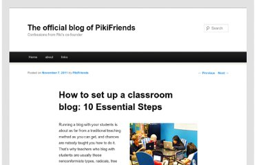 http://pikifriends.wordpress.com/2011/11/07/lesson-plan-things-you-need-to-do-before-blogging-with-students/#comment-157