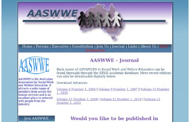 http://www.aaswwe.asn.au/journal.php