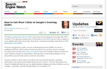 http://searchenginewatch.com/article/2154460/How-to-Get-More-Clicks-in-Googles-Evolving-SERPs