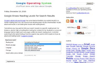 http://googlesystem.blogspot.com/2010/12/google-shows-reading-levels-for-search.html