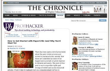 http://chronicle.com/blogs/profhacker/how-to-get-started-with-papercritic-and-why-youd-want-to/38669