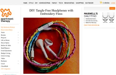http://www.apartmenttherapy.com/diy-tangle-free-headphones-wit-162321