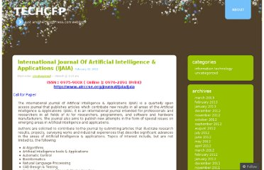 http://cfptech.wordpress.com/2012/02/22/international-journal-of-artificial-intelligence-applications-ijaia-20/