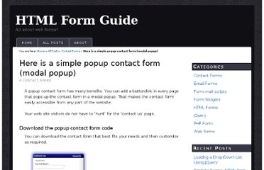 http://www.html-form-guide.com/contact-form/simple-modal-popup-contact-form.html