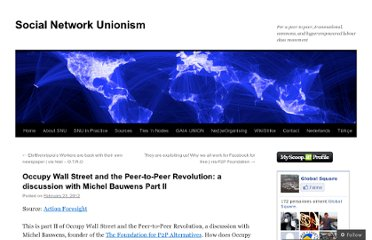 http://snuproject.wordpress.com/2012/02/23/occupy-wall-street-and-the-peer-to-peer-revolution-a-discussion-with-michel-bauwens-part-ii/